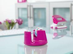 tesafilm® Tischabroller Compact - Farbige Sonderedition