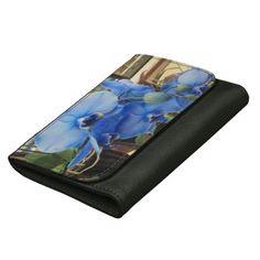 Blue Orchids Wallet