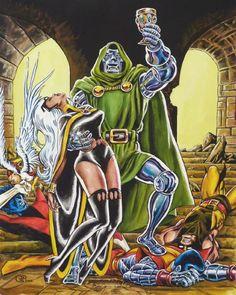 Uncanny X-Men 145 recreation by Jean-Louis Sanglan Comic Art