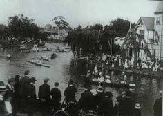 Image result for early christchurch, boatsheds and rowing clubs on the avon river