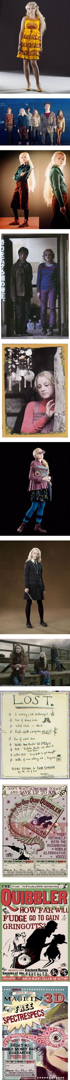 Luna Lovegood Costume by stephy-wants-adventure on Polyvore featuring harry…                                                                                                                                                     More