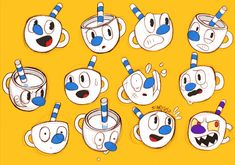 Read portada 1 from the story Imágenes Y Comics de Cuphead and Mugman by Fell_in_hell (México-chan with reads. Cartoon Games, Cartoon Styles, Cuphead Game, Goku, Pokemon, Deal With The Devil, Cartoon Crossovers, Couple Wallpaper, Old Cartoons
