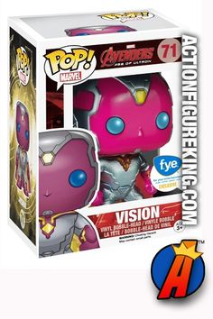 #Funko Pop! #Marvel FYE Exclusive #AVENGERS Age of #Ultron Metallic #VISION Figure. Quickly and easily search thousands of new and vintage #Collectibles #Toys #ActionFigures and more here… http://actionfigureking.com/list-3/funko-toys-collectibles-and-figures/funko-pop-marvel/funko-pop-marvel-avengers-2-variant-metallic-vision-figure-71