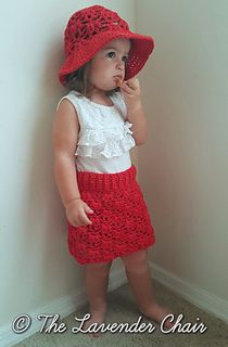Weeping Willow Skirt - Free Crochet Pattern - The Lavender Chair