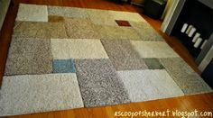A good area rug can be hard to come by, so she decided to make it herself.