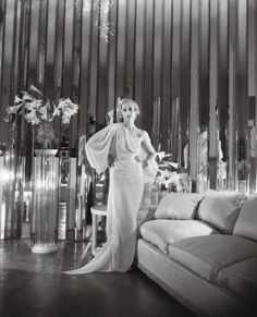 Cecil Beaton's sister Baba in a Syrie Maugham London apartment