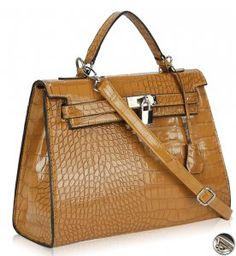 34fbf41fb5cf Mock Croc Tote Tan For Sale in Kildare from Clutter Queen