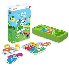 Osmo - Coding Awbie Game - Ages 5 - 12 - Coding & Problem Solving - For iPad and Fire Tablet (Osmo Base Required) Educational Games, Learning Games, Learning Resources, Kids Learning, Ios App, Ipad Mini, Computational Thinking, Fire Tablet, Kids Electronics