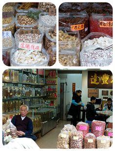 Spice market in Guangzhou, China