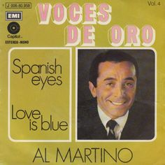 """""""Love is blue"""". Performed by Al Martino. Coverversion of """"L'amor set blue"""" - Luxembourg @ ESC 1967. #SameSongNewCover"""