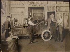 Model T Ford Forum: Old Photo - A Speedster On Stage