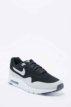 finest selection 8afad 1fe7a Nike Air Max 1 Ultra Moire Trainers in Black