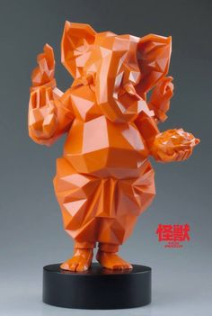 Kaiju Smuggler x Demon State has announced pre-orders for their Lowpoly Ganesha! as lovers of low polygon sculptures, we have our wallets ready to hand over to those guys. Adaptation from the great Ganesha which Kaiju Shiva Art, Ganesha Art, Ganesh Idol, Ganesha Pictures, Ganesh Images, Ganesh Wallpaper, Ganesh Statue, Lion King Art, Polygon Art