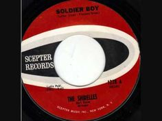 ▶ The Shirelles - Soldier Boy [original, 1962] - YouTube
