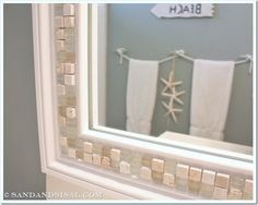 An intervention might be required. I'm obsessed with glass tiles. If I can find a place to use them, I will! My boys' beach themed …