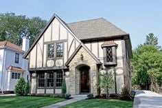 awesome Exterior Design For a Tudor House - Stylendesigns.com!