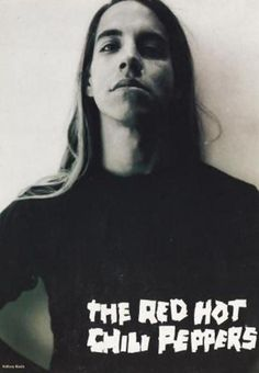 I remember growing up while loving this face. Anthony kiedis. That hair though.....