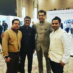 With Sachin Jain India head Forevermark Diamonds.