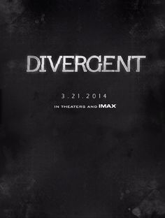 IMDb: Books Being Made Into Movies/Shows - a list by ceenightz Divergent Movie Poster, Watch Divergent, Divergent 2014, Divergent Trilogy, Divergent Insurgent Allegiant, Film 2014, Adventure Film, Learning To Trust, Film Music Books