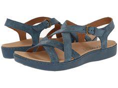 Born Mahala Marine (Light Blue) Full-Grain Leather - Zappos.com Free Shipping BOTH Ways