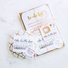 These two gold foiled products went out today together. Don't they look like they were meant to be? Maybe I should do a set for the gold foil lovers!