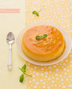 Flan de naranja Delicious Desserts, Dessert Recipes, Sin Gluten, Recipe Using, Creme, Food To Make, Deserts, Food And Drink, Cooking Recipes