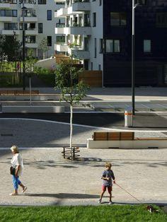 Seestadt Aspern by DnD Landschaftsplanung ZT KG www. Urban Design, Landscape Architecture, Public, Space, House Styles, Fashion, Hermione, Floor Space, Moda