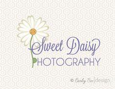Pre Made Logo Design & Watermark  004 Daisy by CarlyBeeDesign, $5.50