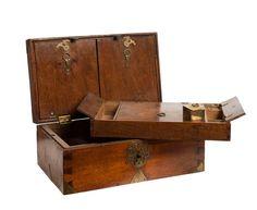 Captain's Writing Box 18th Century, France