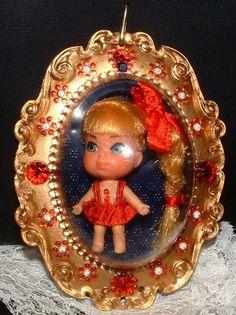 Lucky Locket Lorna LIttle Kiddle doll