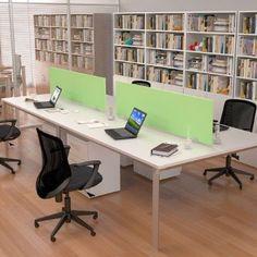 linea Zen Archivos Activos. ambientaciones de oficinas modernas Office Interior Design, Office Interiors, Office Workspace, Office Decor, Open Office, Coworking Space, Office Furniture, Corner Desk, Layout