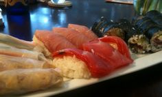 Blog post about sustainable sushi
