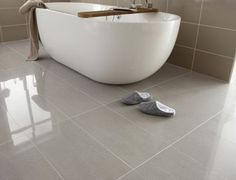 porcelain flooring Regal porcelain from Topps Tiles Ceramic Tile Floor Bathroom, Best Bathroom Flooring, Best Bathroom Tiles, Diy Bathroom, Bathroom Ideas, White Bathroom, Bathroom Faucets, Bathroom Interior, Bathtub Ideas