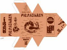 """Packaging """"Picassares Experience"""". Diseño VíctorAlba Pérez"""