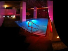 The pool at The Grace Hotel.