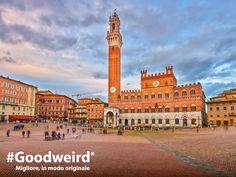 Edifici storici, piazze suggestive, musei... C'è davvero molto da vedere e da fotografare a #Siena! Scatta tutte le foto che vuoi con #YOGATab3Pro, la sua batteria dura fino a 18 ore! #Goodweird