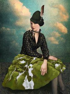 Fantasy Art and Surrealism by Daria Petrilli Art Et Illustration, Illustrations, Chef D Oeuvre, Oeuvre D'art, Fantasy Kunst, Fantasy Art, Daria Petrilli, Photografy Art, Arte Pop
