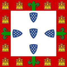 Bandeira portuguesa ( 1385-1485).#JORGENCA