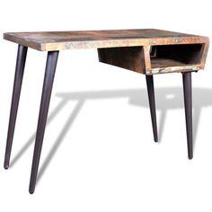 Schreibtisch Bürotisch Wandtisch Konsole Massivholz Teak Antik Vintage Retro #sparen25.com , sparen25.de , sparen25.info