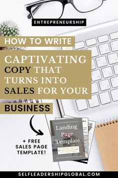 How To Craft Your Web Copy To Convert Into Sales For Your Business (+ FREE sales page template) Content Marketing Strategy, Marketing Tools, Business Marketing, Business Tips, Online Marketing, Social Media Marketing, Online Business, Marketing Ideas, Page Template