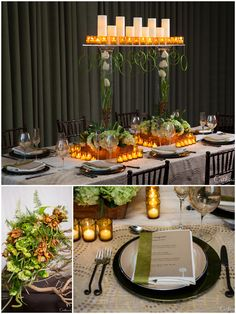 Sleek Wedding Tablescape with Gorgeous Details at PlumpJack Squaw Valley Inn http://www.plumpjackquawvalleyinn.com