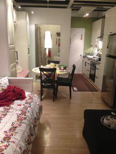 Cute studio apartment ikea