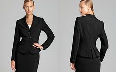 BASLER Three Button Pleated Back Blazer - Bloomingdale's Exclusive