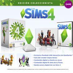 Los Sims 4: Edición Coleccionista.  El simulador social por excelencia vuelve con su cuarta entrega. #PC.  Disponible para reservar en GAME.es y tiendas GAME http://www.game.es/Product/Default.aspx?SKU=096133