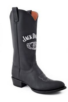 Black+R+Toe+Cowboy+Boot+Jack+Daniels+Footwear+-+Mens+Cowboy+Boots+Urban+