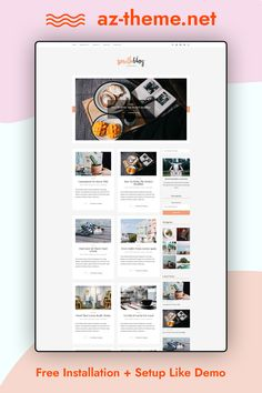 South is a WordPress blog theme with a narrative spirit and clean, uncluttered aesthetics. It is intended for visual storytelling and photoblogging. Due to its eclectic looks, this WordPress theme can be as good for a magazine or a journal as it is for a personal blog. Be it a lifestyle blog, a travel journal, a travelogue, a music band blog, an art blog, a photography blog, a curator's blog, a writer's journal, a food blog, a fashion blog or something else.