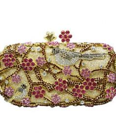 Vintage   Designer Rhinestone Crystal Evening Clutch Bags Wholesale - Lace  Kingdom 55a49763a51e3