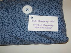 Newborn Changing Set by TonyandLyndie on Etsy, $11.00