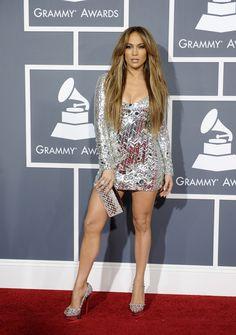 Jennifer Lopez in Pucci at the 2011 Grammys. Styled by #RandM. #pucci #jlo #jenniferlopez