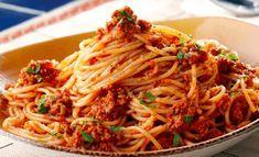 Pasta Recepten Bolognese Ideas For 2019 Pasta Fagioli Recipe, Easy Pasta Salad Recipe, Easy Salad Recipes, Raw Food Recipes, Pasta Recipes, Gourmet Recipes, Healthy Recipes, Spaghetti Bolognese, Beste Bolognese